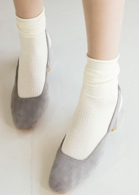 Tiel Ribbed Socks