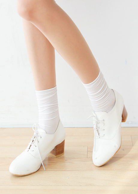 Therese 쫀쫀 Ribbed Socks 4 + 1